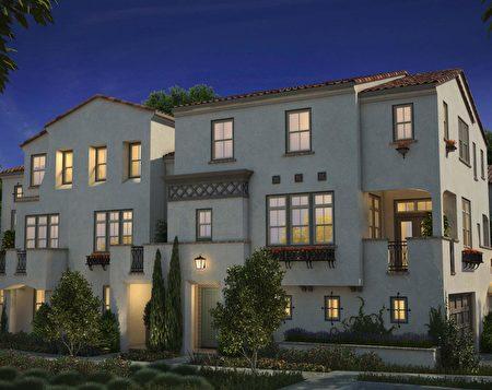 位於Santa Clara,The New Home 開發的Emerson小區。(灣區房地產經紀Li Jin提供)