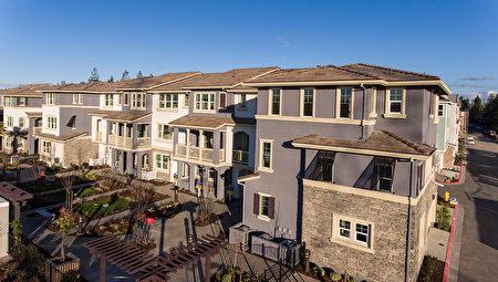 灣區新房開發商D.R.Horton開發的Sandalwood小區。(灣區房地產經紀Li Jin提供)