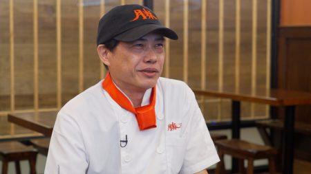 前总统官邸御厨黄德义。