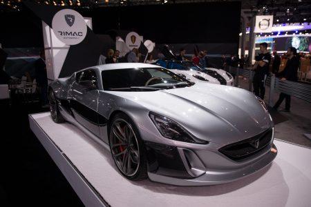 克罗地亚汽车制造公司展出了Concept_One。