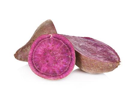 紫色地瓜。(Fotolia)