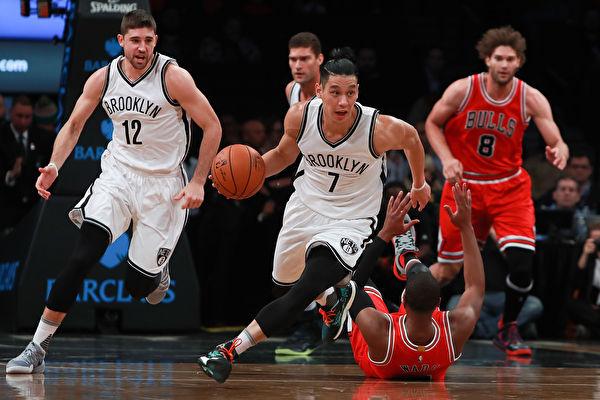 NBA林书豪12分7助攻 篮网一分险胜公牛