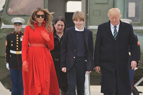 白宮確認:今夏喜迎第一夫人及小「王子」