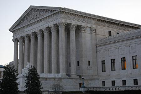 最高法院。 (Photo by Aaron P. Bernstein/Getty Images)