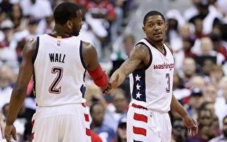 NBA季后赛双卫连线 奇才击落老鹰