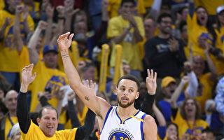 NBA季后赛开拓者末节当机 勇士拿首胜