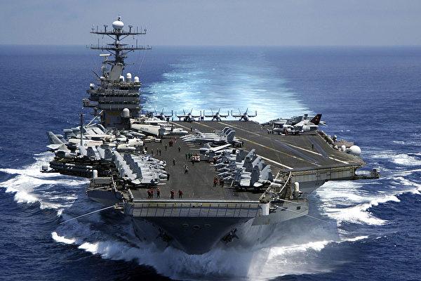 彭斯:卡尔文森航母月底前抵日本海域