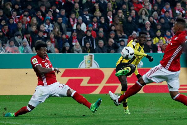 拜仁慕尼黑惨遭多特蒙德逆转 无缘德国杯