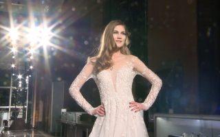 衬托女性的自信魅力 Reem Acra春季婚纱展登场