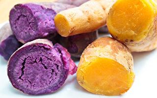 蕃薯是平民食材中的抗癌王 紫色营养更佳