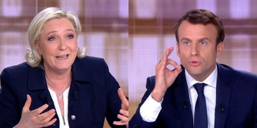 欧元和恐怖主义 法国大选候选人电视激辩