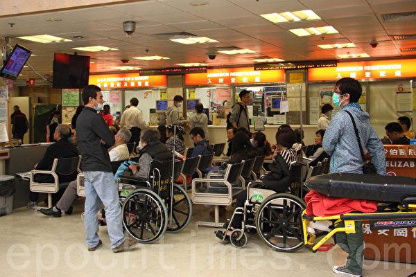 香港急症室收費下月18日起增至180元