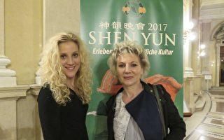 2017年5月6日晚上,Brigitte Praschberger女士觀看了美國神韻世界藝術團在維也納城堡劇院的演出。(新唐人電視台)