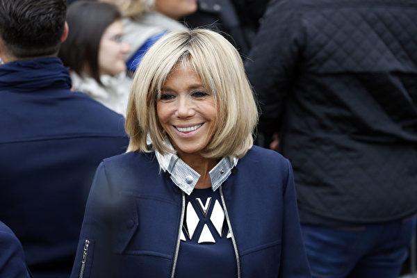 組圖:法國準第一夫人布莉姬的時尚打扮