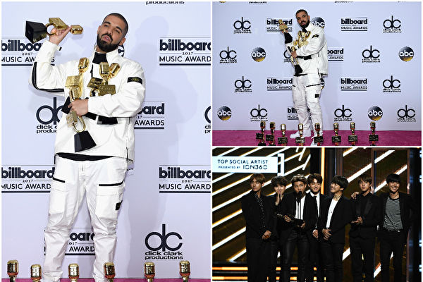 美告示牌音樂獎揭曉 德瑞克橫掃13項成大贏家