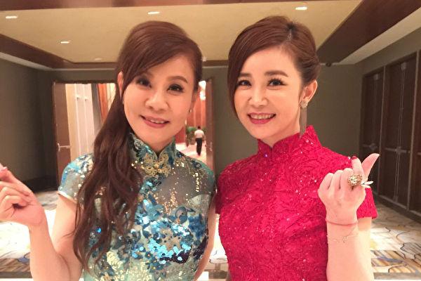 龍千玉黃思婷著旗袍裝 赴菲國慈善晚會義唱