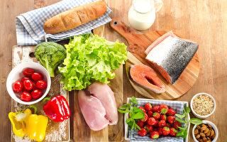 平衡的飲食,健康的食物。(Fotolia)