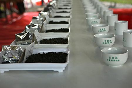 宜蘭縣106年春季優良茶品級鑑定比賽。(曾漢東/大紀元)