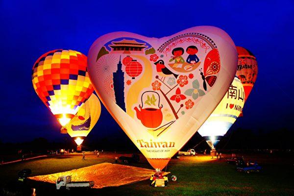 熱氣球,光雕音樂會,台東