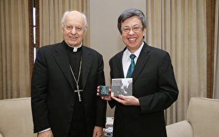 陳建仁盼與教廷密切合作 強化夥伴關係
