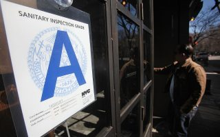 紐約九成餐館衛生拿A級 有水分?