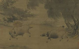 話牛畫──《風雨歸牧圖》