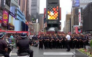 英國曼徹斯特遇恐襲後 紐約安保升級