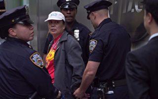 对纽约5‧13法轮功活动骚扰者将被录像取证