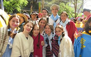 世界各族裔聚紐約 慶法輪功傳世25週年(3)
