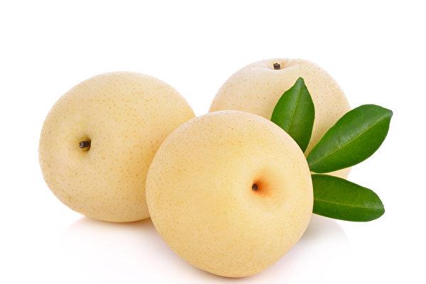 梨,性涼,有清熱,化痰,生津,潤燥,解瘡毒等功效。(Fotolia)