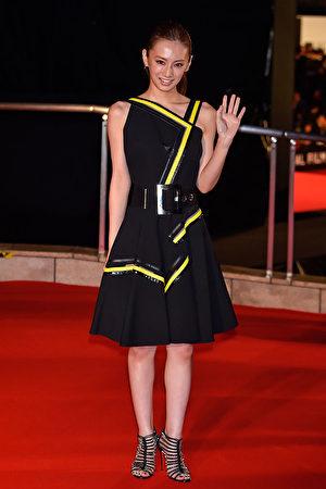 日本女星北川景子。(Koki Nagahama/Getty Images)