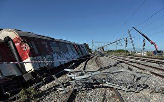 組圖:希臘列車脫軌後撞民房 3死10傷