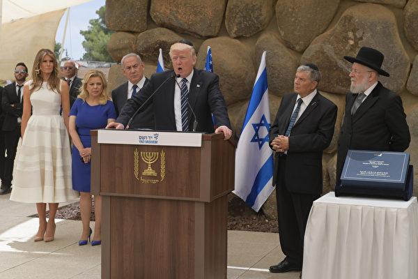 以巴领袖承诺 与川普合作促成和平协议