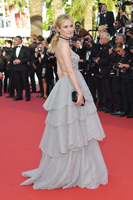 CANNES, FRANCE - MAY 23: Diane Kruger attends the 70th Anniversary screening during the 70th annual Cannes Film Festival at Palais des Festivals on May 23, 2017 in Cannes, France. (Photo by Pascal Le Segretain/Getty Images)