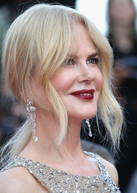 """CANNES, FRANCE - MAY 24: Nicole Kidman attends the """"The Beguiled"""" screening during the 70th annual Cannes Film Festival at Palais des Festivals on May 24, 2017 in Cannes, France. (Photo by Chris Jackson/Getty Images)"""
