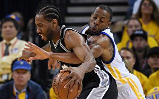 NBA西區決賽首場 勇士逆轉25分力擒馬刺
