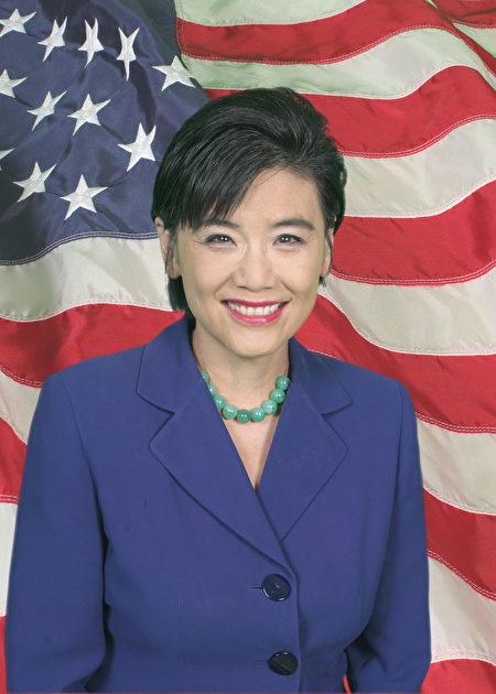 国会众议员赵美心,希望给年轻人提供机会、进入政治主流。(网络图片)