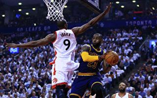 NBA季后赛 骑士横扫猛龙 晋级东区决赛