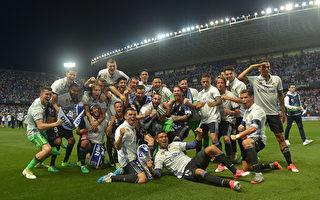 时隔五年 皇马三分力压巴萨再夺西甲桂冠