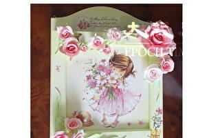 DIY母親節禮物:收藏幸福的玫瑰鑰匙盒