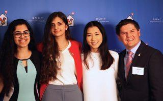 麥當勞發獎學金 兩華裔女生獲獎