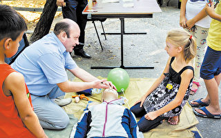 生死走一回 湾区小女孩被CPR救回一命