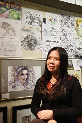 助华裔学生上名校 安娜画室点石成金