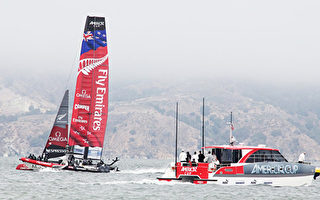 报一箭之仇 新西兰队美洲杯帆船赛完胜