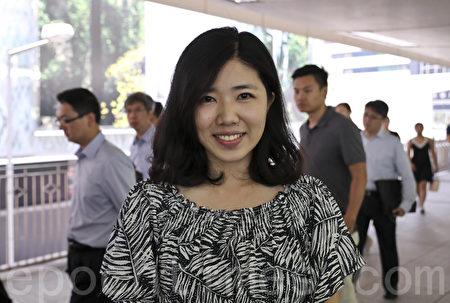 刘小姐认为大陆如果想有一个长期良好的关系,应该认真聆听香港的声音,思考怎么样才是真正的香港好。(大纪元)