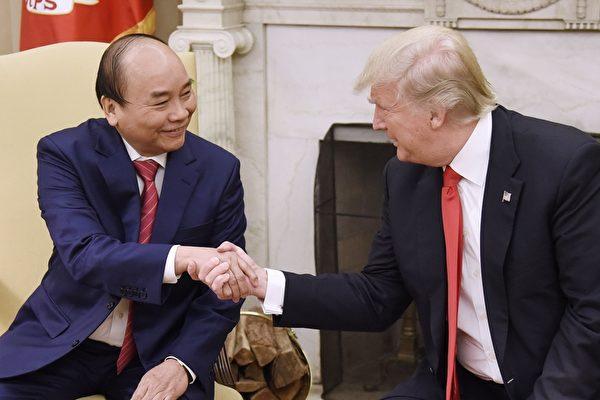 越总理访美伴手礼 数十亿美元合约