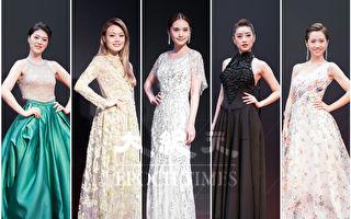 组图:杨丞琳纯白女伶 优雅闪耀星光红毯