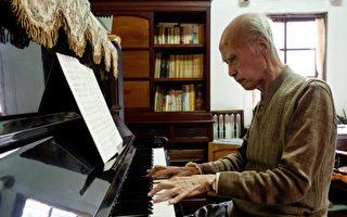 郭芝苑一生致力音樂創作與關懷鄉土,被譽為「台灣現代民族音樂之父」。(郭芝苑音樂協進會/提供)