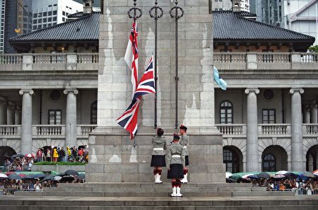 香港政權1997年移交中國至今已20年。(AFP)