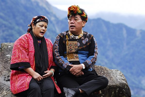原住民族古谣传唱-艾秧乐集的表演。(传艺中心提供)